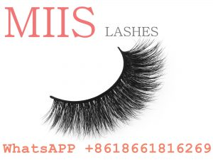 own brand premium 3d mink eyelashes